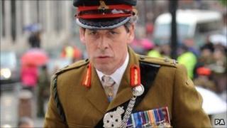 Lt Gen Sir Nick Parker