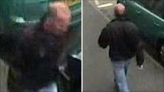 Composite photo of the attacker taken from CCTV images
