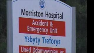 Morriston Hospital in Swansea