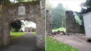 Scone Palace archways