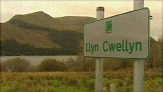 Llyn Cwellyn reservoir
