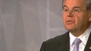 US Democratic senator Robert Menendez