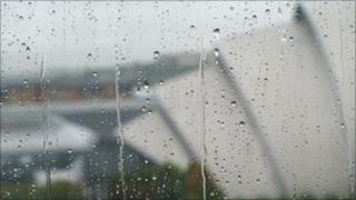 Rain in Glasgow