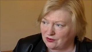 Health Minister Edwina Hart