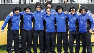 European team at Celtic Manor