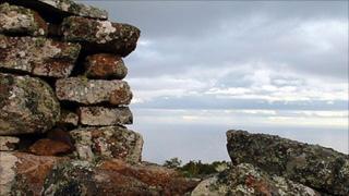 Ruins at Badbea