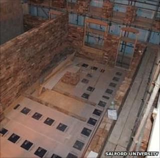 Energy House under construction (Image: Salford University)