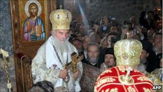 Enthronement of Patriarch Irinej, Pec, 3 Oct 2010