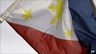 The Philippines flag 2010