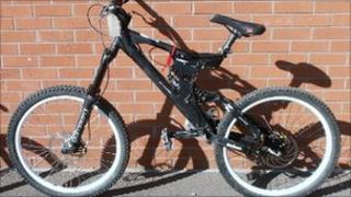 Mountain bike (pic courtesy of Cleveland Police)