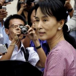 Detained Burmese opposition leader Aung San Suu Kyi, pictured in November 2009
