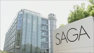 Saga Group headquarters in Folkestone, Kent