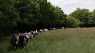 A guided walk through the Nant Fawr Meadows