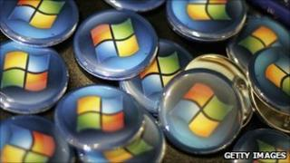 Windows logo, Getty