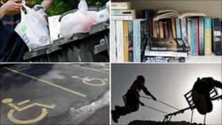 comp pic of council services