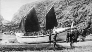 The Gem RNLI lifeboat