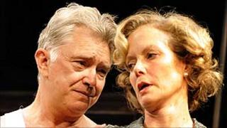 Martin Shaw and Jenny Seagrove in The Country Girl