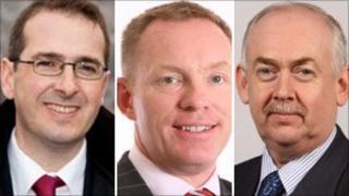 Owen Smith, Chris Bryant and Wayne David