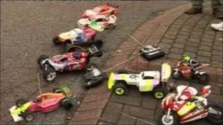 Radio controlled cars and bikes