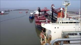 Avonmouth Docks in Bristol