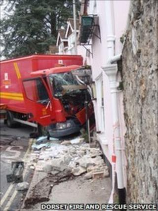 The Royal Mail and hotel damage