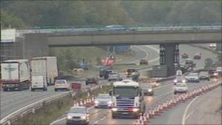 M56 motorway