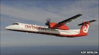 Air Berlin Bombardier Q400