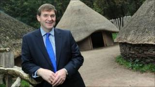 David Anderson at St Fagans: National History Museum for Wales