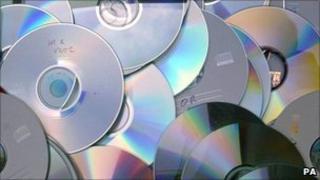 Counterfeit CDs