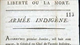 Haitian Declaration of Independence