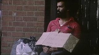 homeless man generic