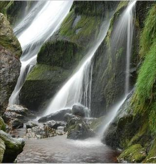 Library image of river and waterfall (Image: BBC)