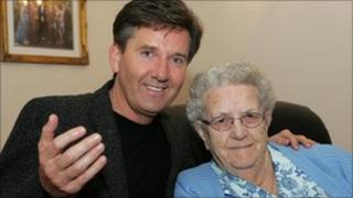 Daniel O'Donnell and his mother Julia