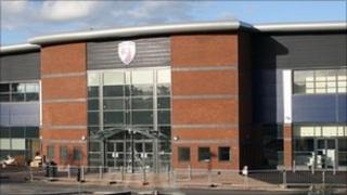 Chesterfield's b2net stadium