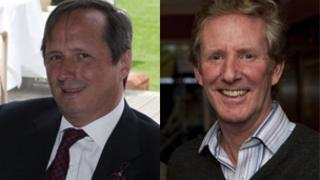 Charles Stisted and Ian Wooldridge
