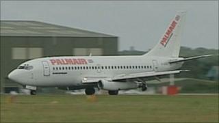 Palmair's aeroplane