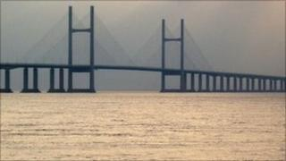 Second Severn Bridge links Wales and England