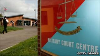 Bulford Military Court Centre at the Kiwi Barracks in Salisbury, England