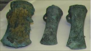 Bronze axes