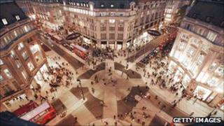 Oxford Circus 'X-crossing'