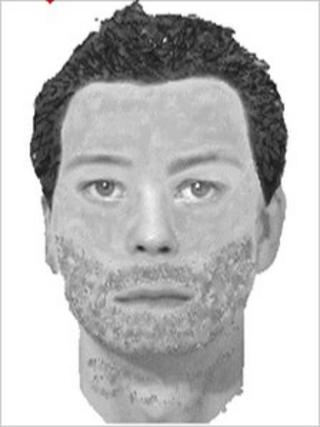 An efit of the man police would like to question