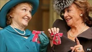 Eileen Derbyshire and Barbara Knox