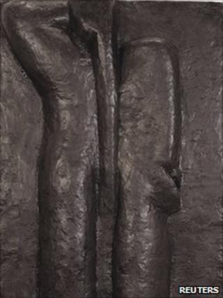 Matisse's Nu de dos, 4 etat (Back IV)