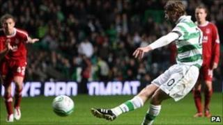 Pat McCourt scores penalty in 9-0 win