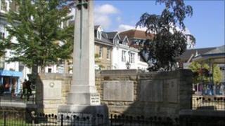 Horsham war memorial