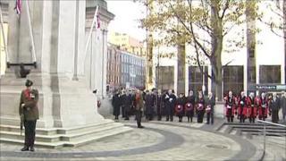 Cenotaph at Belfast City Hall