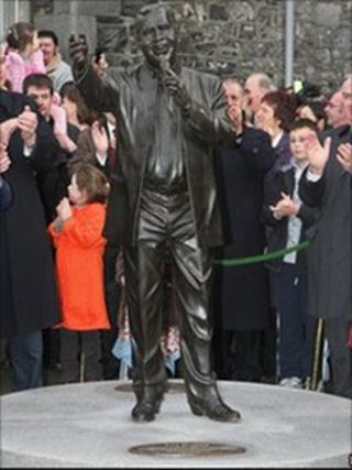 The statue was unveiled in 2008