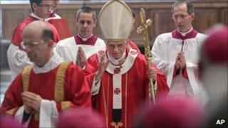 Pope Benedict XVI in the Vatican (4 Nov 2010)