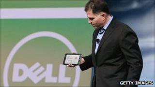 Dell founder and chief executive, Michael Dell