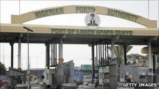 Apapa port, Lagos, Nigeria, 27 October 2010